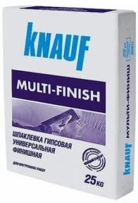 Knauf Multifinish (Мультифиниш) Шпаклевка гипсовая финишная, 25кг