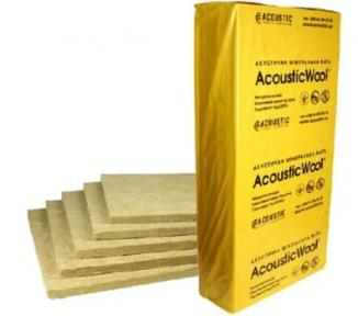 Acoustic Wool Sonet F (Флор) Акустическая минеральная вата 6,0 м2/упак, (1000*600*20)