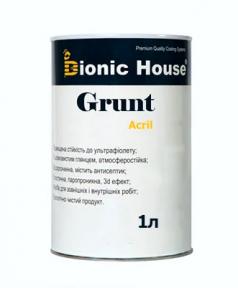 Bionic House (Бионик Хаус) Акриловый грунт для деревянных поверхностей с антисептическими свойствами 1 л