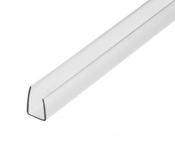 Профиль торцевой ГКЛ пластиковый 12,5 мм 3 м