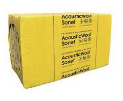 Acoustic Wool Sonet Акустическая минеральная вата 6,0 м2/упак, (1000*600*50) 48 кг/ м.куб