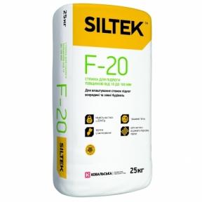 SILTEK F-20 Стяжка для пола толщиной от 10 до 100 мм, 25 кг