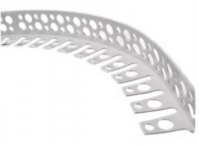 Профиль угловой арочный, пластиковый 3 м
