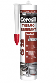 Ceresit CS 28 Термостойкий герметик 300 мл