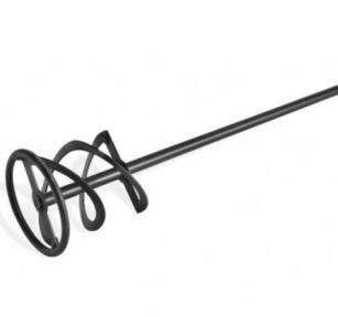 Миксер для штукатурки с резьбой М14, 125 мм, 10-30 кг