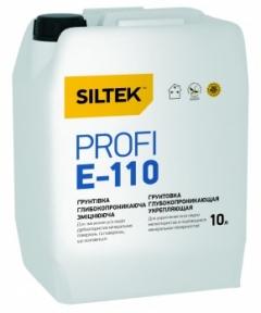 Грунтовка глубокопроникающая SILTEK Profi Е-110, 10л.