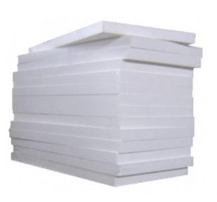 Пенопласт 25 Фасад-Эко 1000х500х50/100 мм (11 кг/м3)