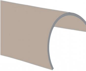 Knauf (Кнауф) Гипсокартон стеновой арочный листовой 2500*1200*6,5 мм
