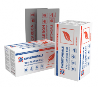 Sweetondale (Свитондейл) CARBON ECO Экструдированный пенополистирол 20/30/40/50 мм, уп. 20/13/10/8 шт