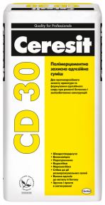 Ceresit (Церезит) CD 30 Полимерцементная защитная адгезионная смесь, 25 кг