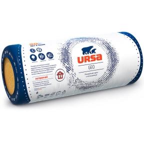 URSA (УРСА) GEO M-11 Минеральная тепло- и звукоизоляция 16,8 м.кв (2х7000х1200х50 мм) лайт (пак 0,84 м.куб)