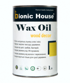 Bionic House (Бионик Хаус) Oil Wax Масло воск для дерева 1 л