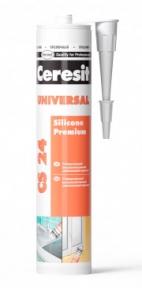 Ceresit CS 24 Универсальный силиконовый герметик (два цвета), 280 мл