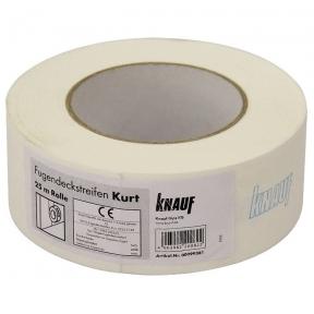 Knauf (Кнауф) Лента для швов бумажная Курт 25/75 мм.