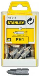 Отверточные насадки Stanley (Стенли) РН2х25 мм, 25 и 100 шт