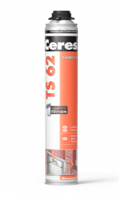 Ceresit TS 62 Пена монтажная (под пистолет) 750 мл