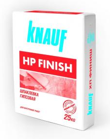 Knauf (Кнауф) HP Finish (ХП Финиш) Тонкослойная гипсовая шпаклёвка 25 кг