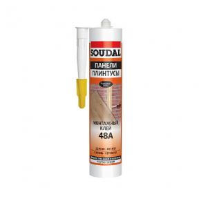 Монтажный клей(жидкие гвозди) Soudal 48A, 280 мл