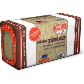 URSA (УРСА) Terra 39 PN Минеральные универсальные плиты 7,5/3,75 м.кв (1250х600х50/100 мм) 0,375 м.куб 10/5 шт