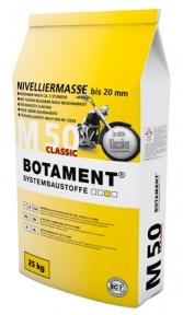BOTAMENT M 50 Classic Самовыравнивающаяся смесь до 20 мм, 20/25 кг