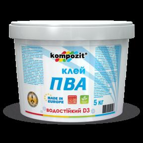 Клей ПВА D-3 KOMPOZIT, 1 кг