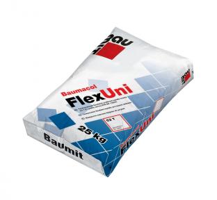 Baumit FlexUni универсальная эластическая смесь, 25 кг