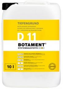 BOTAMENT D 11 Глубокопроникающая грунтовка, 5/10л.