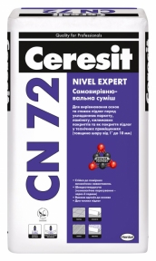 Ceresit CN 72 Nivel Expert Самовыравнивающаяся смесь, 25 кг
