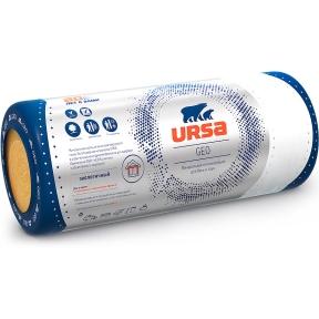 URSA (УРСА) GEO М-11Ф Минеральная тепло- и звукоизоляция 15 м.кв (12500х1200х50 мм) уп. 0,75 м.куб в палете 30 шт