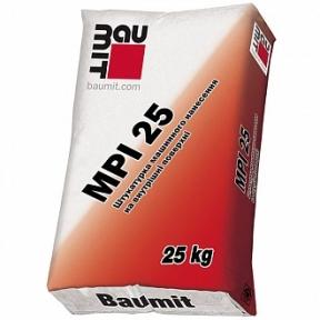 Baumit MPI-25 штукатурка машинного нанесения внутри помещений, 25 кг