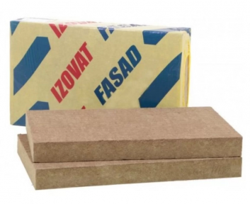 Izovat (Изоват) FASAD Базальтовая вата 50 и 100 мм