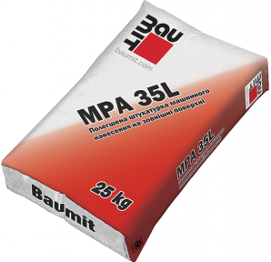 Baumit MPA 35L Штукатурка цементная, 25 кг. (Баумит МПА 35Л)